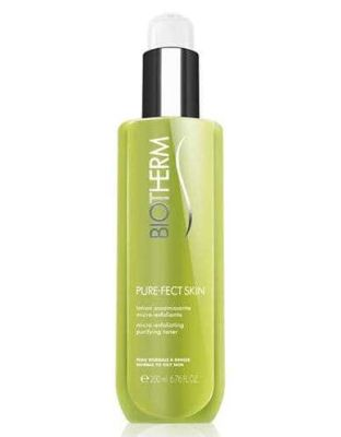 Biotherm - Biotherm Pure-Fect Skin Micro-Exfoliating Purifying Toner - Normal to Oily Skin 6.76 oz