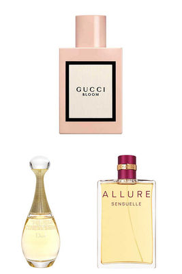 Best Perfume - Chanel - Christian Dior - Gucci Women Perfume Set