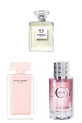 Best Perfume - Christian Dior - Chanel - Narciso Women Perfume Set
