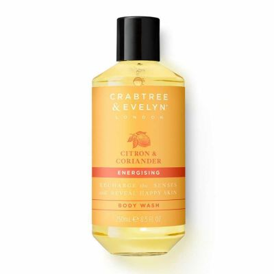 Crabtree & Evelyn - Crabtree and Evelyn Citron and Coriander Energising Body Wash 8.5 oz