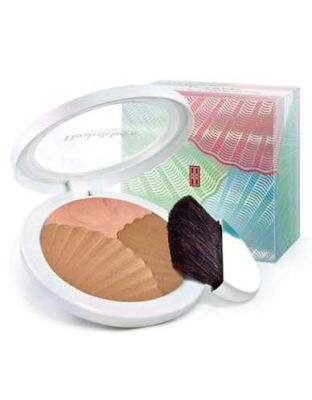 Elizabeth Arden - Elizabeth Arden Sunkissed Pearls Bronzer and Highlighter - 01 Warm Pearl 0.32 oz