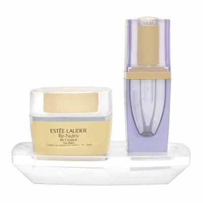 Estee Lauder - Estee Lauder Re-Nutriv Re-Creation Eye Balm Eye Balm 15ml + Night Serum 4ml 2 Pc