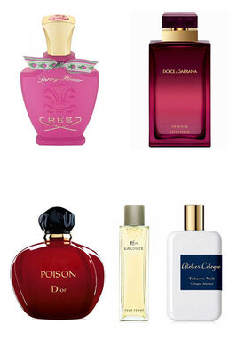 Best Perfume - Only Qatar Women Set - C.Dior - A.Cologne - Lacoste - Creed - D&G