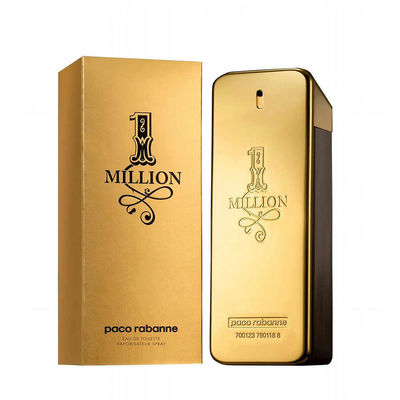 Paco Rabanne - Paco Rabanne 1 Million EDT 100 ML For Men Perfume (Original)