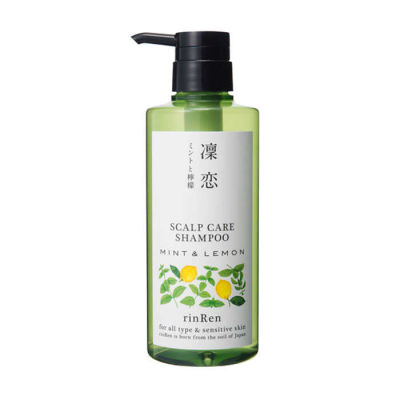 RinRen - RinRen Scalp Care Shampoo Mint and Lemon 13.5 oz