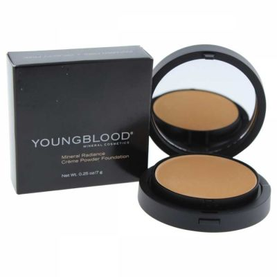 Youngblood - Youngblood Mineral Radiance Creme Powder Foundation - Barely Beige 0.25 oz