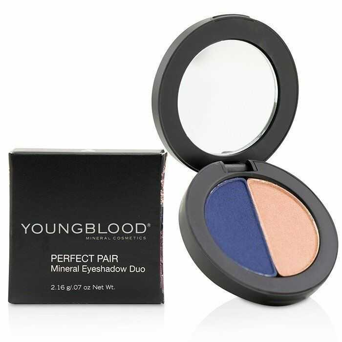Youngblood Perfect Pair Mineral Eyeshadow Duo - Graceful 0.07 oz